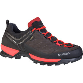 Salewa MTN Trainer GTX Shoes Women Black Out/Rose Red